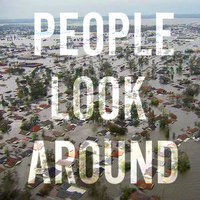 People Look Around
